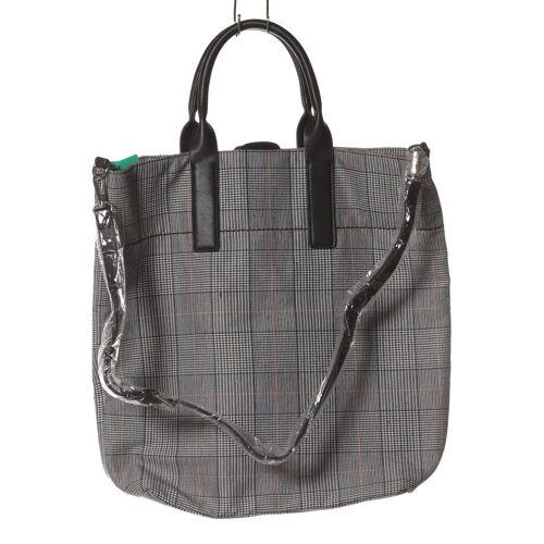 Kiomi Damen Handtasche grau Baumwolle