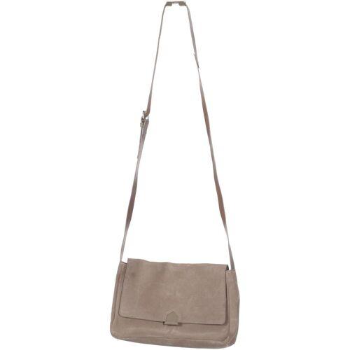Kiomi Damen Handtasche beige Leder