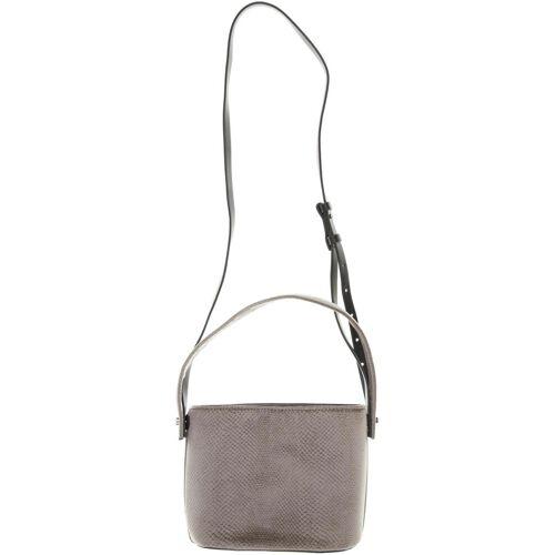 Kiomi Damen Handtasche grau Kunstleder