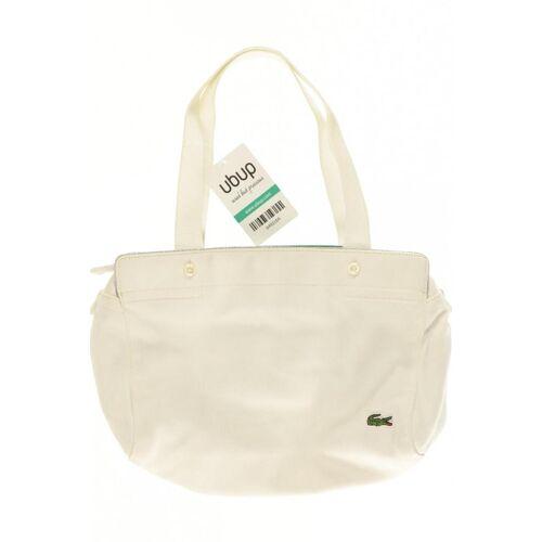 Lacoste Damen Handtasche weiß