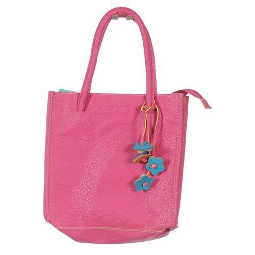Manguun Damen Handtasche pink Kunstleder
