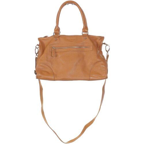 NAF NAF Damen Handtasche orange Leder