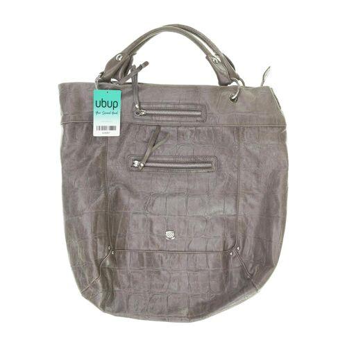 NAVYBOOT Damen Handtasche grau Leder