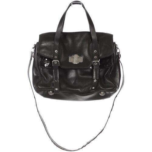 NAVYBOOT Damen Handtasche schwarz Leder