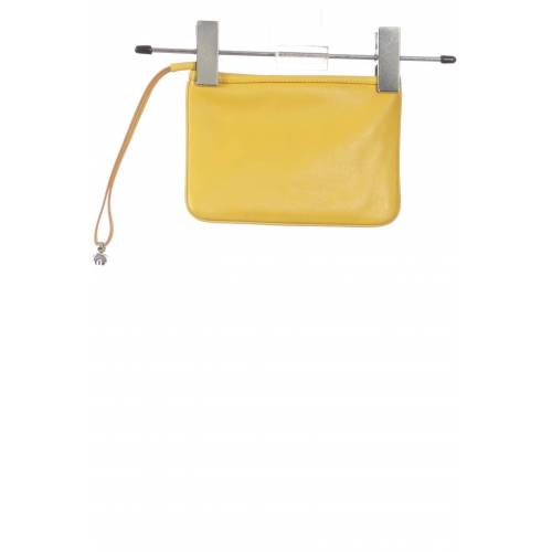 NAVYBOOT Damen Handtasche gelb Leder