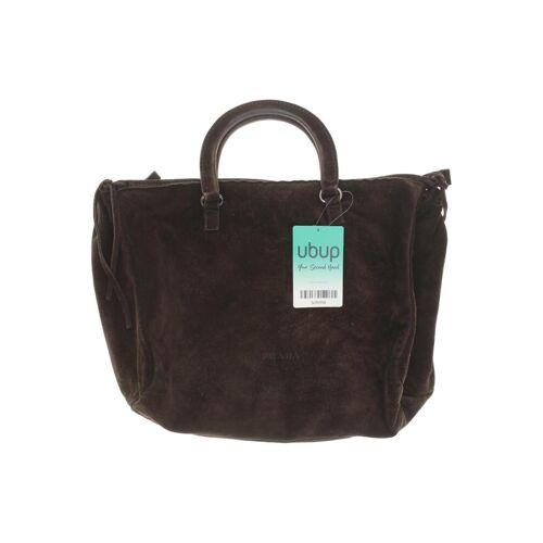 Prada Damen Handtasche braun kein Etikett