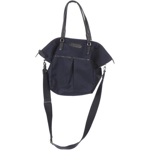 Roeckl Damen Handtasche blau Baumwolle