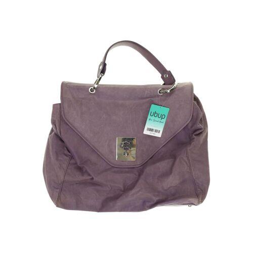 Strenesse Damen Handtasche lila Leder