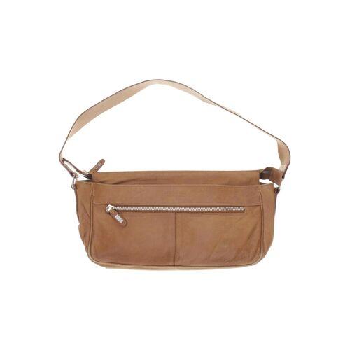Strenesse Damen Handtasche braun Leder