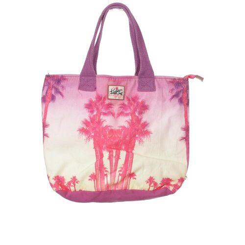 Superdry Damen Handtasche pink Baumwolle
