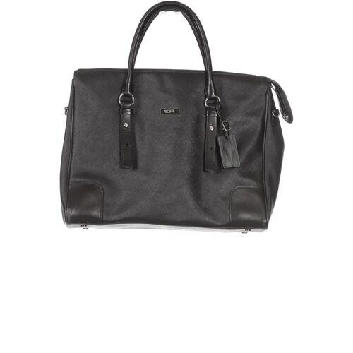 Tumi Damen Handtasche schwarz Leder