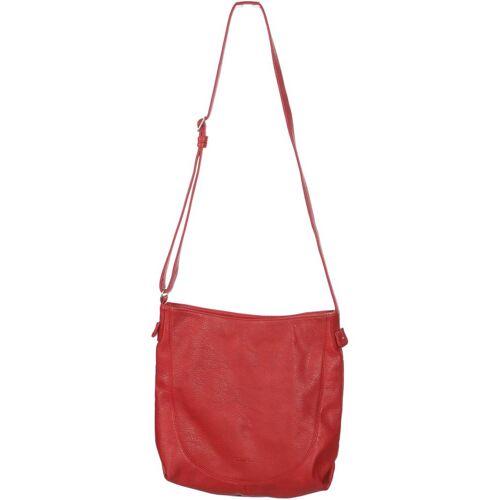 Voi Damen Handtasche rot Kunstleder Leder