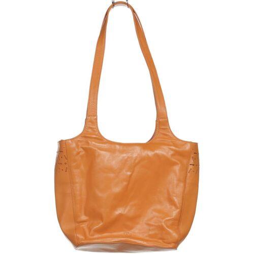 Voi Damen Handtasche orange Leder