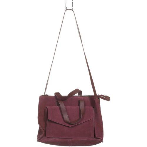 Zign Damen Handtasche lila Leder