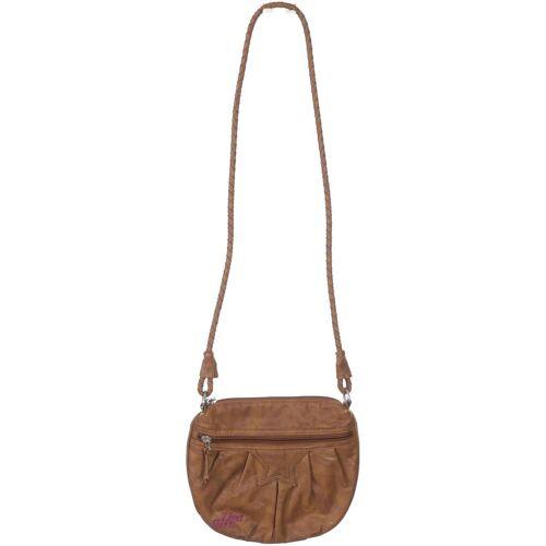 Zimtstern Damen Handtasche braun Kunstleder