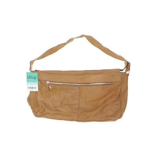Strenesse Damen Handtasche beige Leder