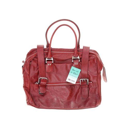 Strenesse Damen Handtasche rot Leder
