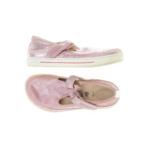 Birkenstock Damen Kinderschuhe pink Leder DE 30