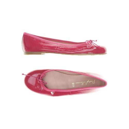 Pretty Ballerinas Damen Kinderschuhe pink Leder DE 38