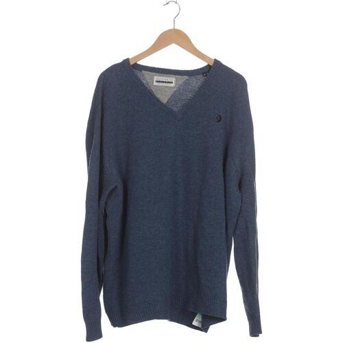 ARQUEONAUTAS Herren Pullover blau Wolle INT 3XL