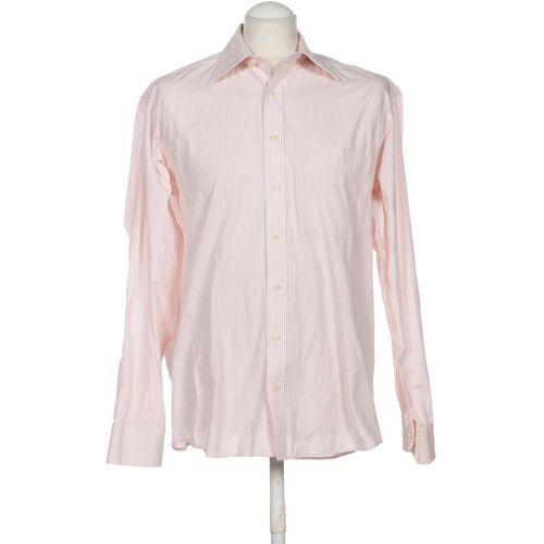 Abrams Herren Hemd pink Baumwolle KW DE 42