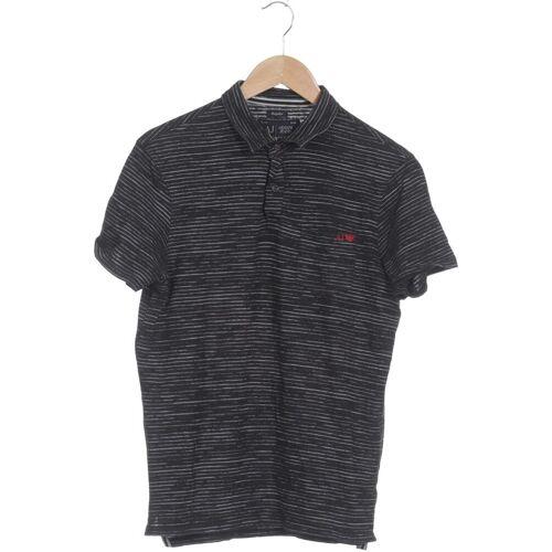 Giorgio Armani Jeans Herren Poloshirt grau kein Etikett INT L