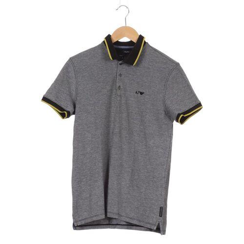 Giorgio Armani Jeans Herren Poloshirt grau kein Etikett INT M