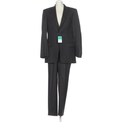 BARUTTI Herren Anzug grau Schurwolle Viskose DE 50