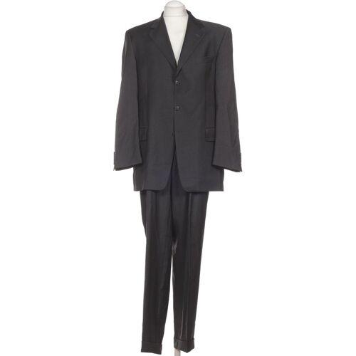 BARUTTI Herren Anzug grau Schurwolle Viskose DE 52