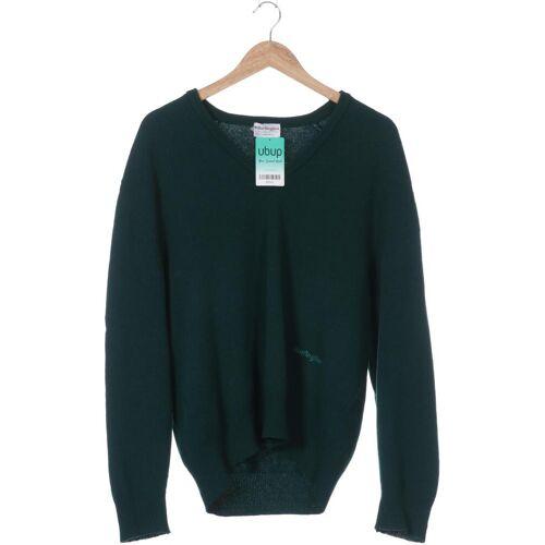 Burlington Herren Pullover grün Wolle DE 56