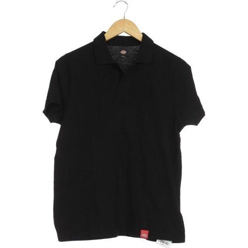 Dickies Herren Poloshirt schwarz Baumwolle INT S