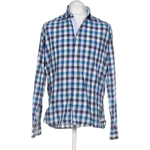 Digel Herren Hemd blau Baumwolle INT L