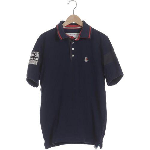 Dolomite Herren Poloshirt blau Elasthan Baumwolle INT S