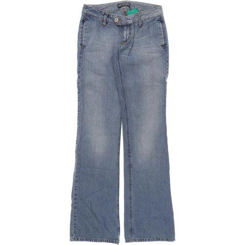 FREESOUL Herren Jeans blau Baumwolle INCH 26