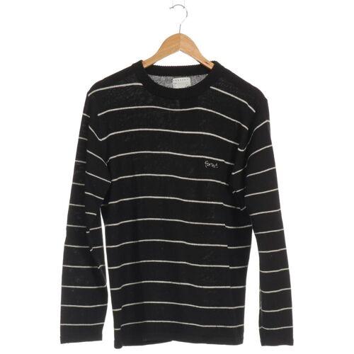 Forvert Herren Pullover schwarz Synthetik Wolle INT M