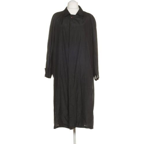 Herno Herren Mantel schwarz Seide INT 6XL