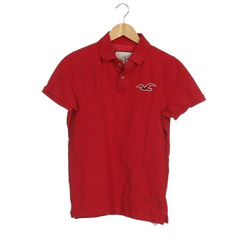 Hollister Herren Poloshirt rot kein Etikett INT L