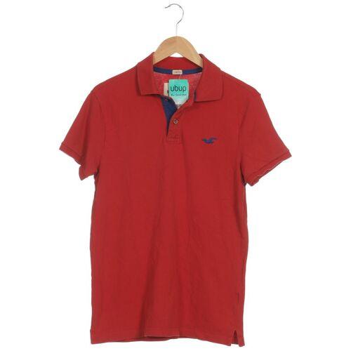 Hollister Herren Poloshirt rot kein Etikett INT S