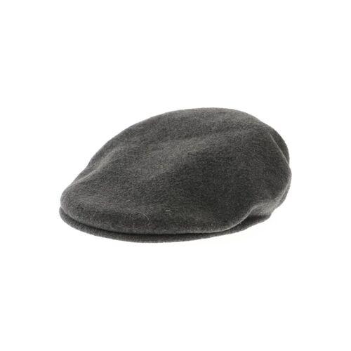 Kangol Herren Hut/Mütze grau Wolle INT M