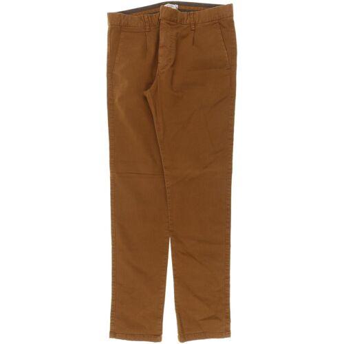 Kiomi Herren Jeans braun Elasthan Baumwolle INCH 30