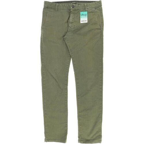Kiomi Herren Jeans grün Elasthan Baumwolle INCH 32