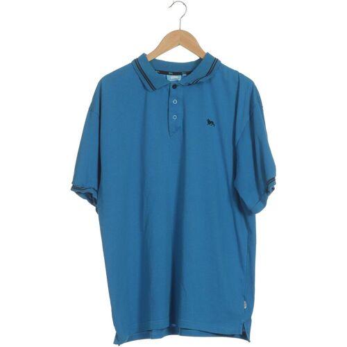 LONSDALE LONDON Herren Poloshirt blau kein Etikett INT XXL