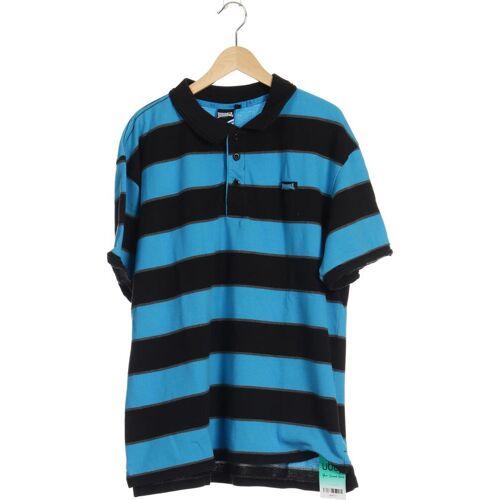 LONSDALE LONDON Herren Poloshirt blau kein Etikett INT XL