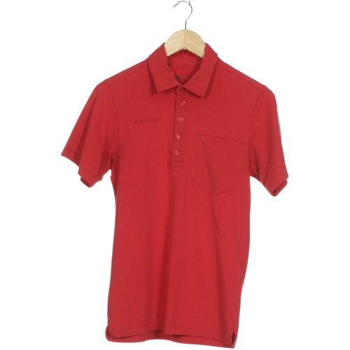 MAMMUT Herren Poloshirt rot kein Etikett INT S