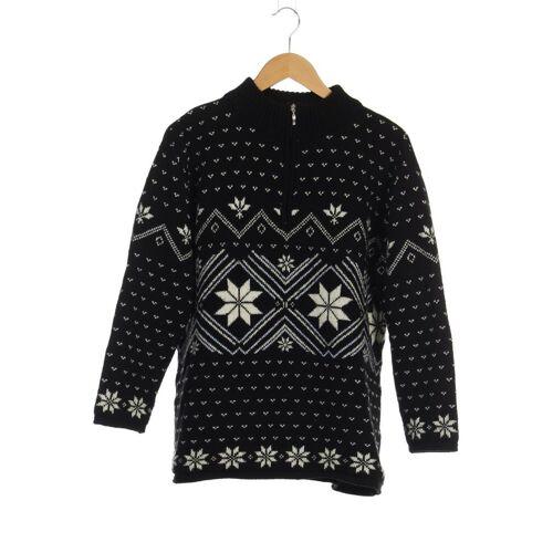 Manguun Herren Pullover schwarz Synthetik Wolle INT XL