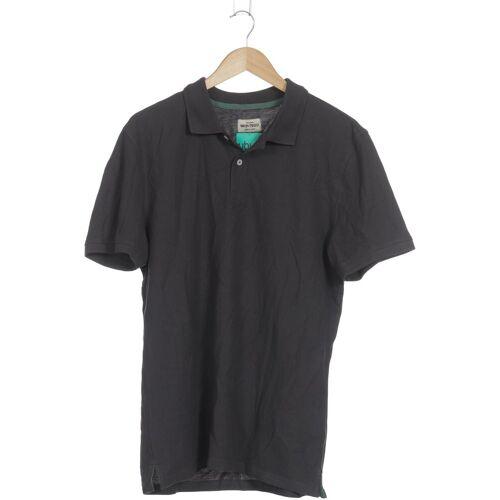 Montego Herren Poloshirt grau Baumwolle INT L