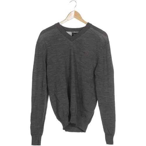 REDGREEN Herren Pullover grau Wolle INT M