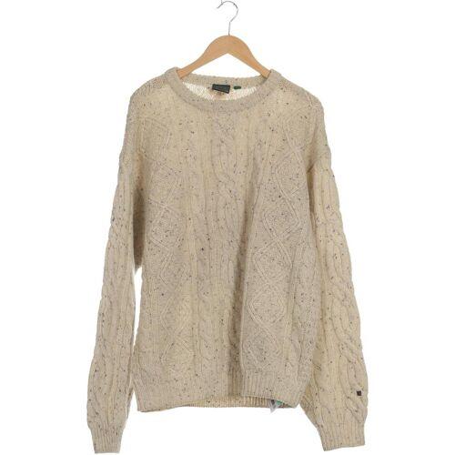 REDGREEN Herren Pullover beige Wolle INT L