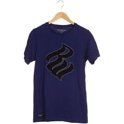Rocawear Herren T-Shirt blau Baumwolle INT M
