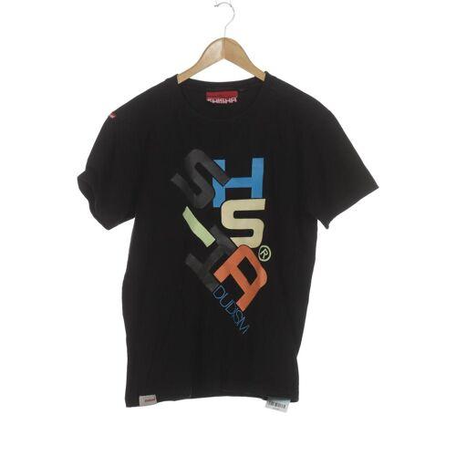 SHISHA Brand Herren T-Shirt schwarz Baumwolle INT M